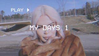 MY DAYS 1: UUDET MASIINAT JA VAALEITA HIUKSIA | Henry Harjusola
