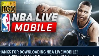 Nba Live Mobile Asia Game Review 1080P Official Electronic ArtsSports 2016