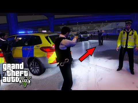 GTA 5 MODS UK POLICE | CHASING FOOLS IN SNOW | LSPDFR: THE BRITISH WAY #181