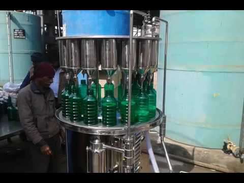 Automatic Pesticides Filling Machine