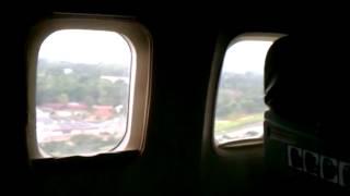Cuba   Flying into Cuba, landing