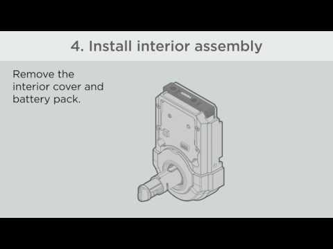 Weiser SmartCode 5 Lever Installation (Z-Wave) - смотреть