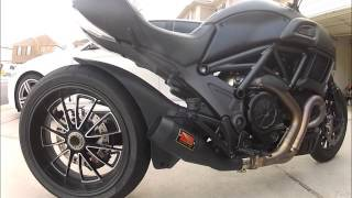 Werkes Exhaust Ducati Diavel 2015