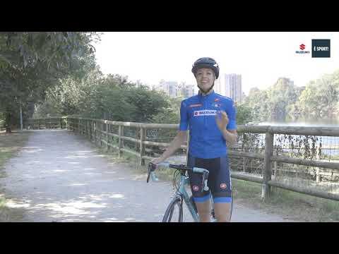 SUZUKI E' SPORT: Cassani e Carolina pedalano insieme
