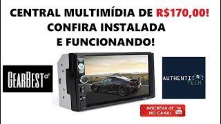 Central Multimídia de R$ 170,00!! Confira Instalada e em Funcionamento!