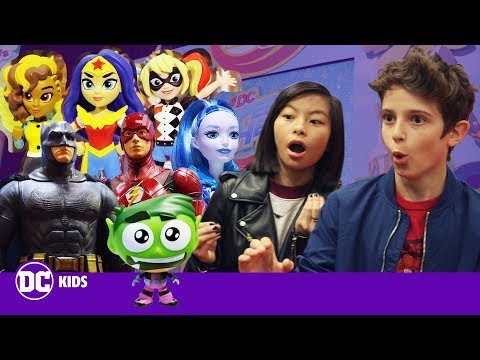 TEEN TITANS GO!, FUNKO and DC SUPER HERO GIRLS Toy Preview!   DC KIDS SHOW