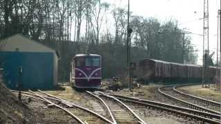preview picture of video 'Úzkorozchodná železnice Jindřichohradecké místní dráhy (JHMD) - Jindřichův Hradec'