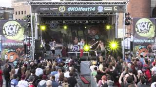 Foxy Shazam - Holy Touch (Live @ KOI Music Fest 14)