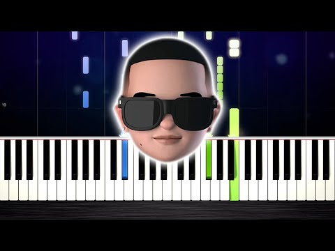 Daddy Yankee & Snow - Con Calma - Piano Tutorial by PlutaX