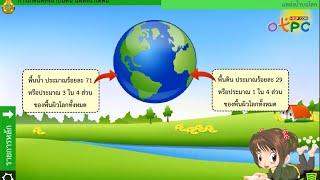 สื่อการเรียนการสอน การทดลองเลียนแบบและอธิบายการเกิดแหล่งน้ำบนดิน แหล่งน้ำใต้ดิน ม.2 วิทยาศาสตร์