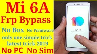 mi Redmi 6A Mi account relock probleam solutions by umt dongle