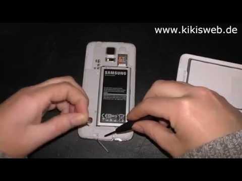 Samsung Galaxy S5 - USB Abdeckung wechseln