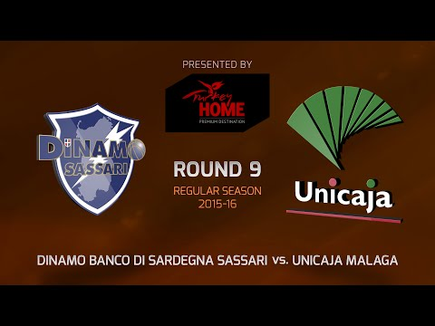 Highlights: RS Round 9, Dinamo Sassari 65-77 Unicaja Malaga