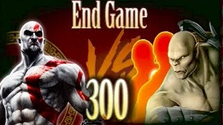 Kratos VS Challenge Tower 300. God of War VS Mortal Kombat! МК9 2015!