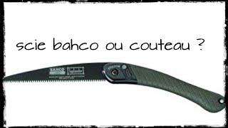 FR ASMR : COUTEAU OU SCIE PLIANTE ? pour bivouac bushcraft asmr刀武器