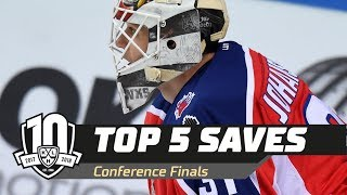 2018 Gagarin Cup Conference Finals Top 5 Saves