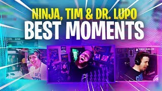 NINJA, LUPO, TIMTHETATMAN; THE BEST TRIO IN FORTNITE? FUNNIEST MOMENTS!
