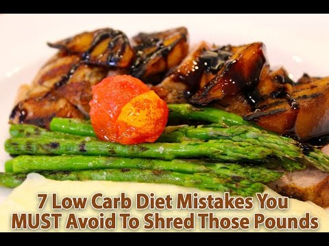 Video Low Carb Diet Mistakes - 7 Most Common