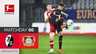 SC Freiburg - Bayer 04 Leverkusen | 2-4 | Highlights | Matchday 6 – Bundesliga 2020/21