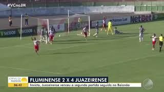 Imagem do vídeo Fluminense x Juazeirense - Melhores momentos