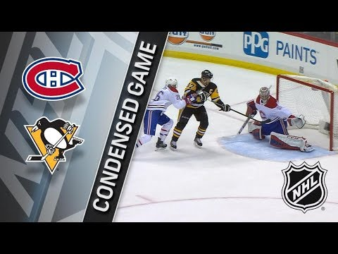 Montreal Canadiens vs Pittsburgh Penguins – Mar. 21, 2018 | Game Highlights | NHL 2017/18. Обзор