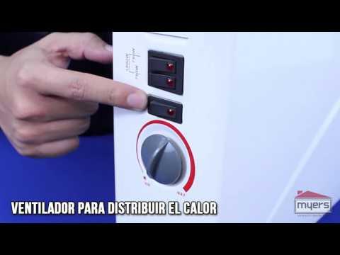Calefactor electrico con dispersor de aire heatwave