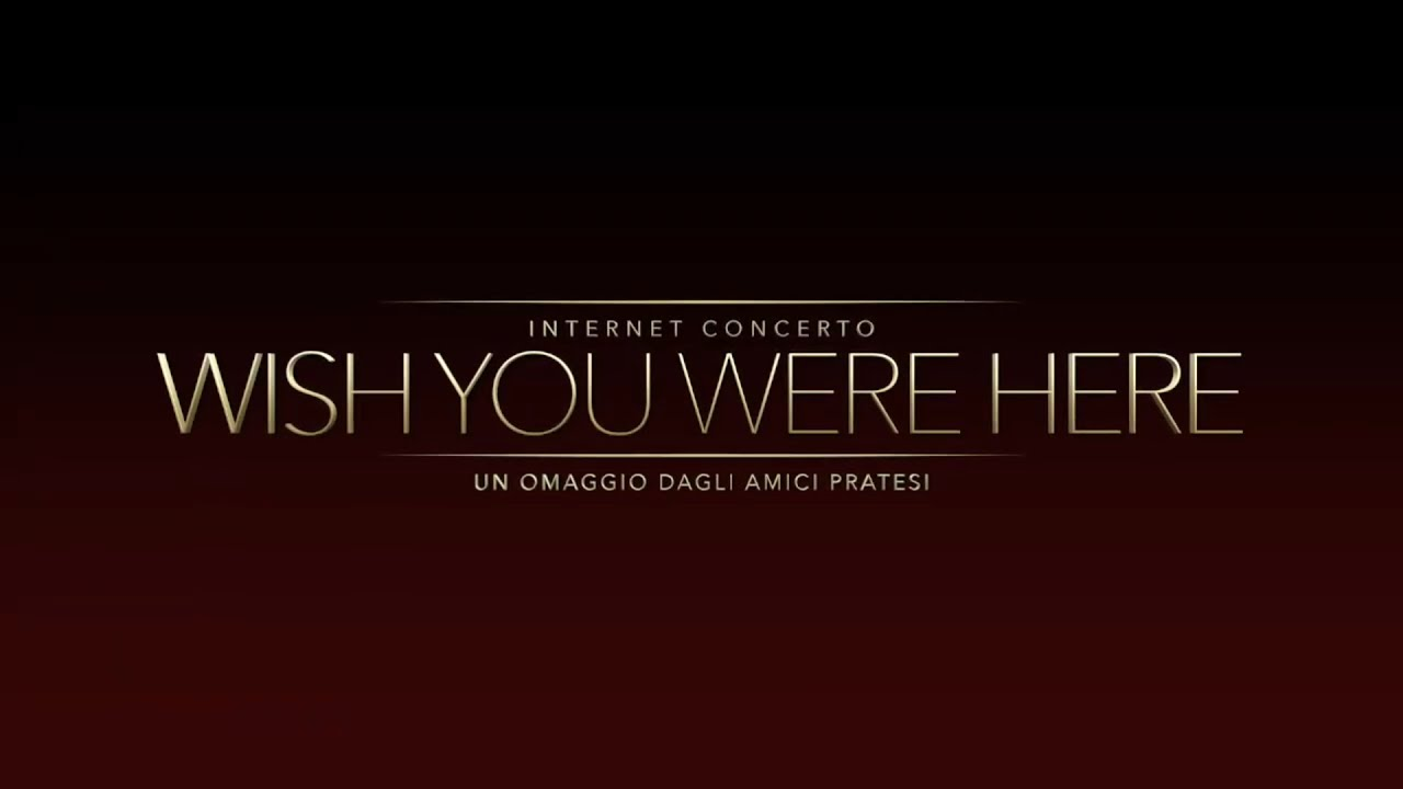 Video-Concerto Wish You Were Here