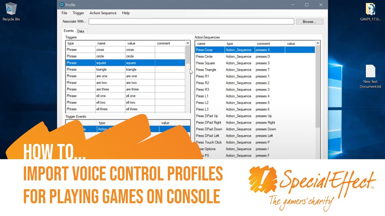 video placeholder for How to Import Voice Control Profiles | How to... Video