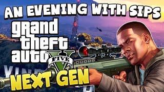 Grand Theft Auto V (PS4) - An Evening With Sips