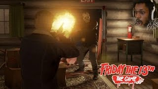 SCREAMING FOR MY FREAKING LIFE | Friday The 13th BETA