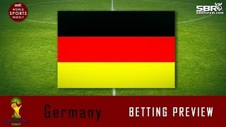 2014 World Cup Betting: Team Germany Preview