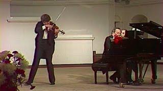 Sergei Stadler plays Schumann, Ernst, Schubert, Chopin - video 1988