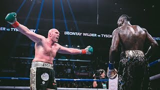Tyson Fury's Great Comeback against Deontay Wilder Highlights