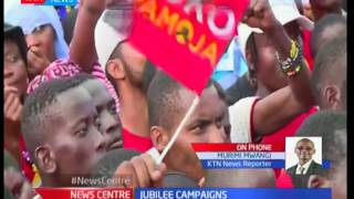 President Uhuru leads Jubilee campaigns in Mandera