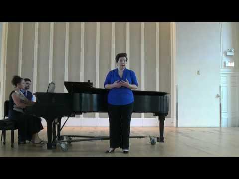 """""""Come Scoglio"""", Fiordiligi's Act I aria from Mozart's COSI FAN TUTTE"""