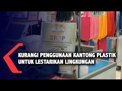 kurangi penggunaan kantong plastik