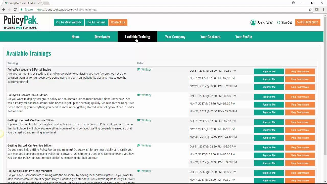 PolicyPak Cloud Login Video