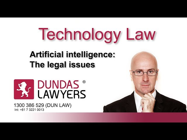 Artificial Intelligence introduction to legal issues in Australia
