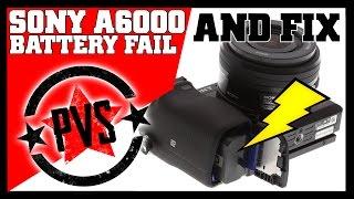 Sony A6000 Mysterious Battery Drain!