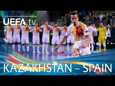 bd1d403135f58 Kazakhstan 5-5 (1-3)g.p. Spain    Euro Futsal 2018    Match Events ...