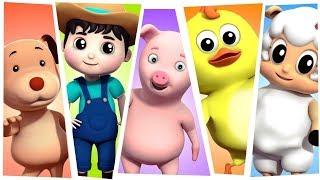 Nursery Rhymes | Best Kids Songs & Cartoon Videos For Children - Farmees