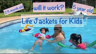 Puddle Jumper Kids Life Jackets    Try on   