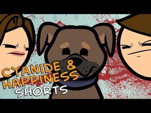 Kdo dostane psa? - Cyanide & Happiness