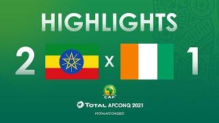 Élim. CAN 2021 : Ethiopie 2-1 Côte d'Ivoire