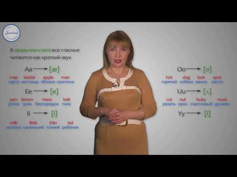Алфавит. Транскрипция. Чтение гласных в открытом и закрытом слогах