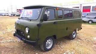 2016 УАЗ 390995. Обзор (интерьер, экстерьер, двигатель).