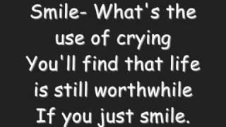 Charlie Chaplin Smile lyrics (Glee)