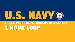 Navy The Eleven General Orders of a Sentry (1 hour)