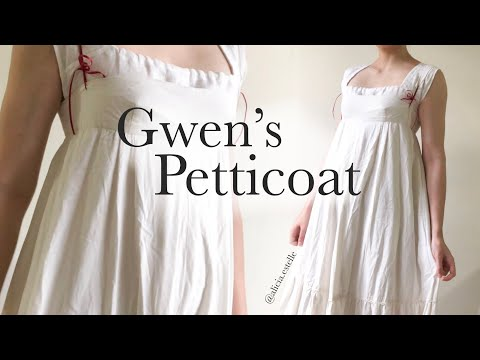 Altering a Petticoat - Gwen's Dress
