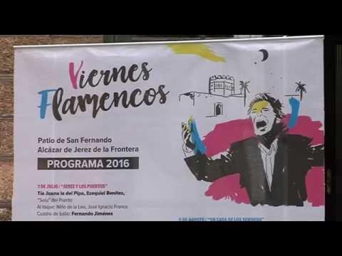 Los Viernes Flamencos se presentan en Diputación con un cartel de lujo